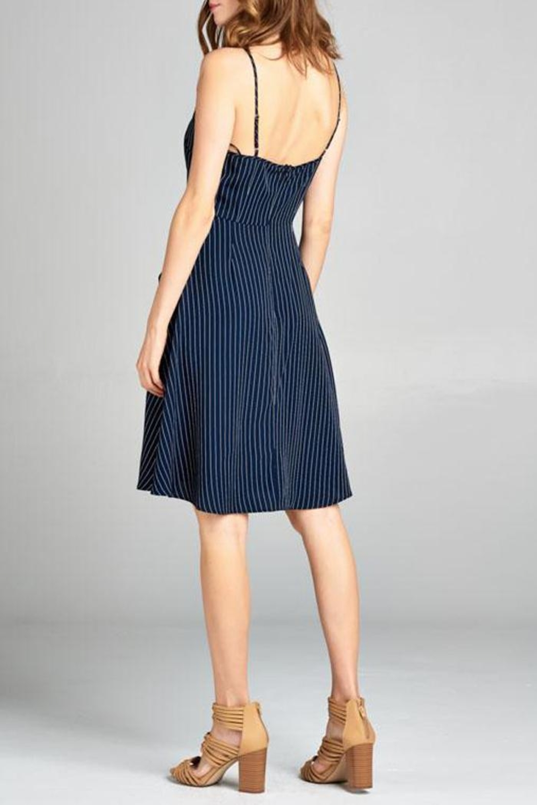 Tresics Pippa Fit-And-Flare Dress - Side Cropped Image
