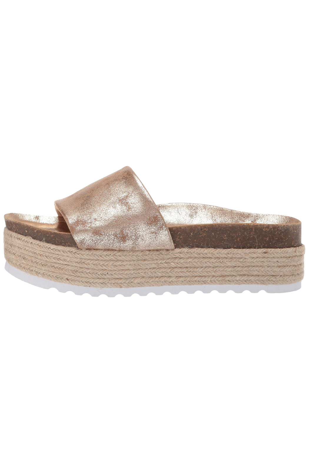Dirty Laundry Pippa Flatform Sandal - Front Cropped Image