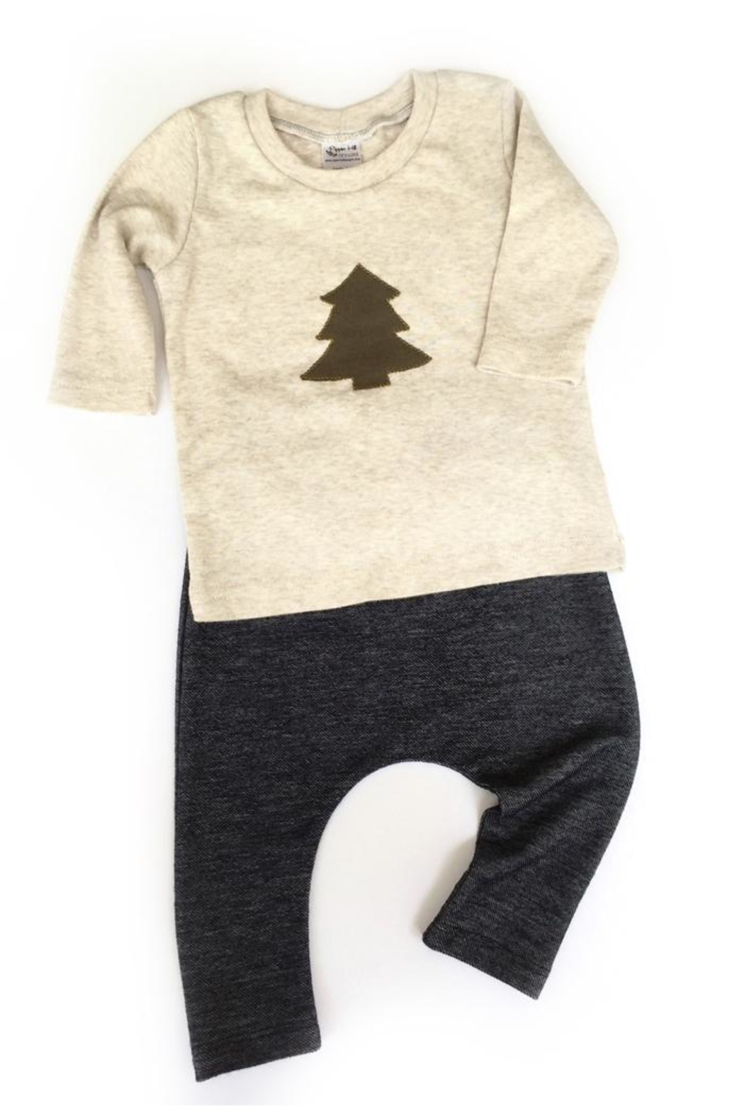 Pippin Hill Designs Baby Navy Pants - Front Full Image