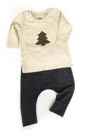 Pippin Hill Designs Baby Navy Pants - Front full body