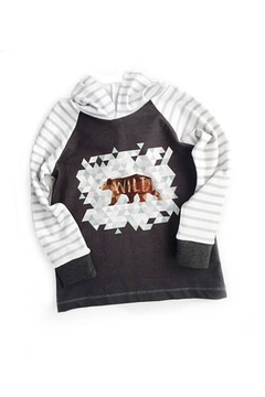 Shoptiques Product: Wild Tee Hoodie