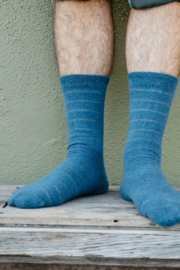 Mollusk Pique Stripe Sock - Product Mini Image
