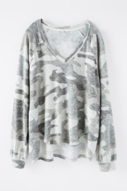 z supply Pira camo slub sweater - Other