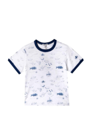 art & eden Pirate Map Tee - Front cropped