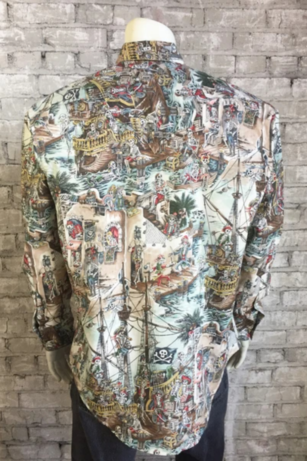 Rockmount Ranch Wear Pirate Shirt - Front Full Image