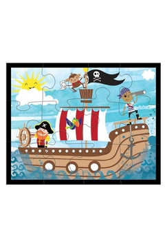 Mudpuppy Pirates-Ahoy! Pouch Puzzle - Alternate List Image