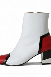 Jessica Kessel Pisac White Boot - Front cropped