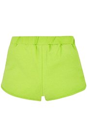 Mayoral Pistachio Knit Shorts - Side cropped
