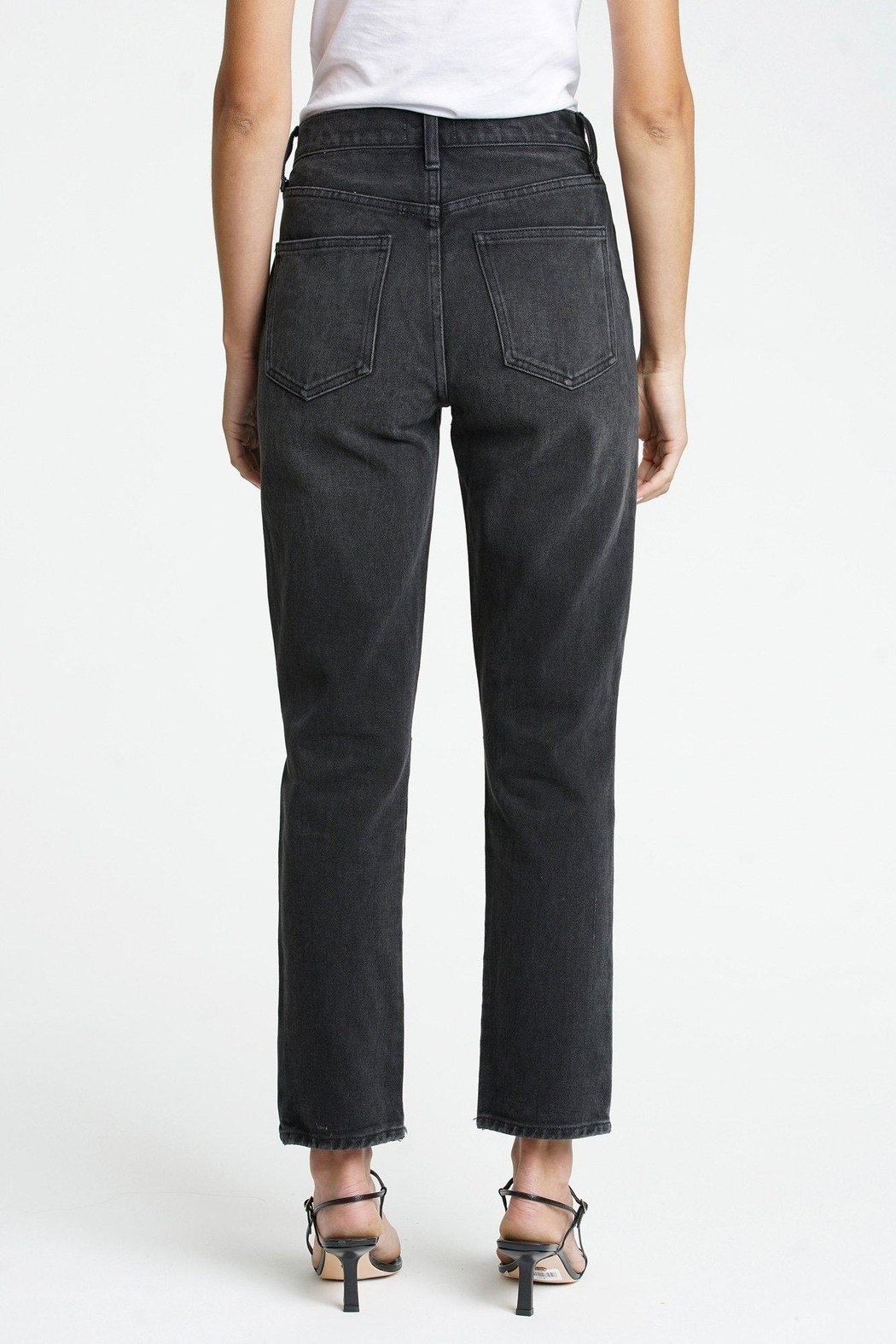 Pistola Keaton High Rise Slim Straight - Side Cropped Image