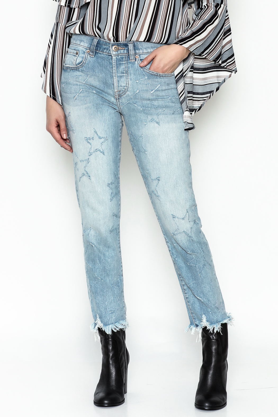Pistola Star Struck Jeans - Front Cropped Image