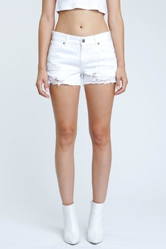 Shoptiques Product: White Destroyed Shorts
