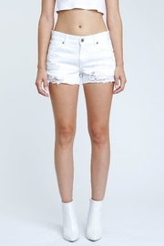 Pistola White Destroyed Shorts - Product Mini Image