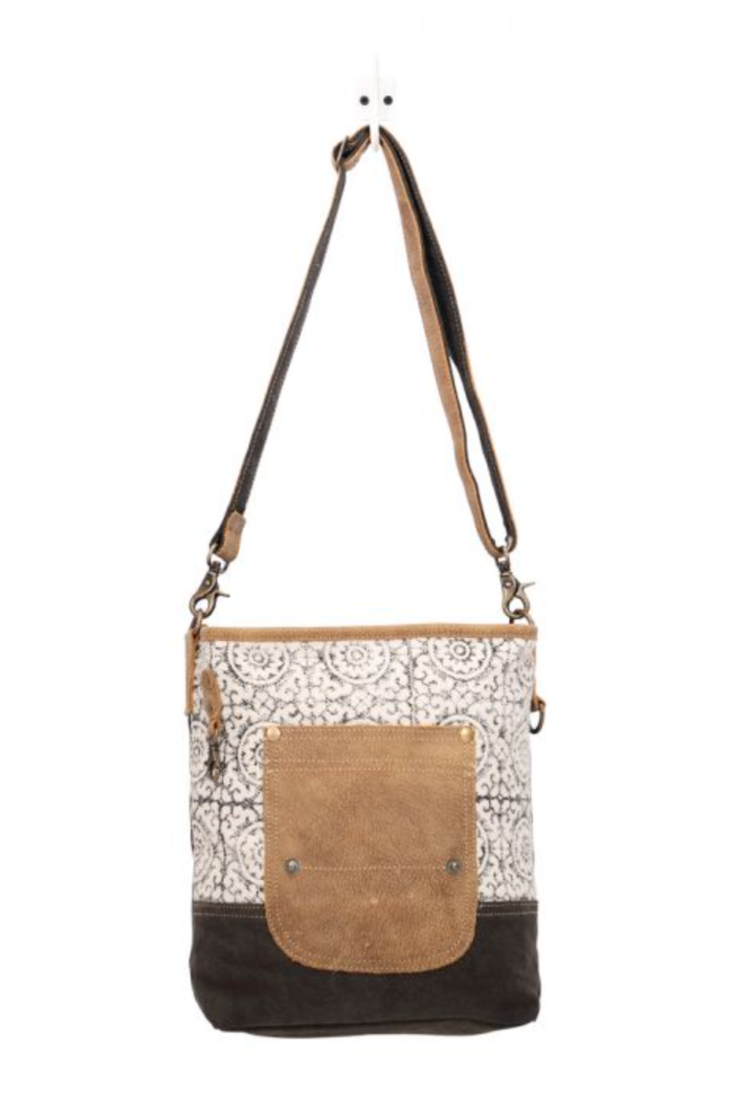 MarkWEST-Myra Bag Pivot Print Shoulder Bag - Main Image
