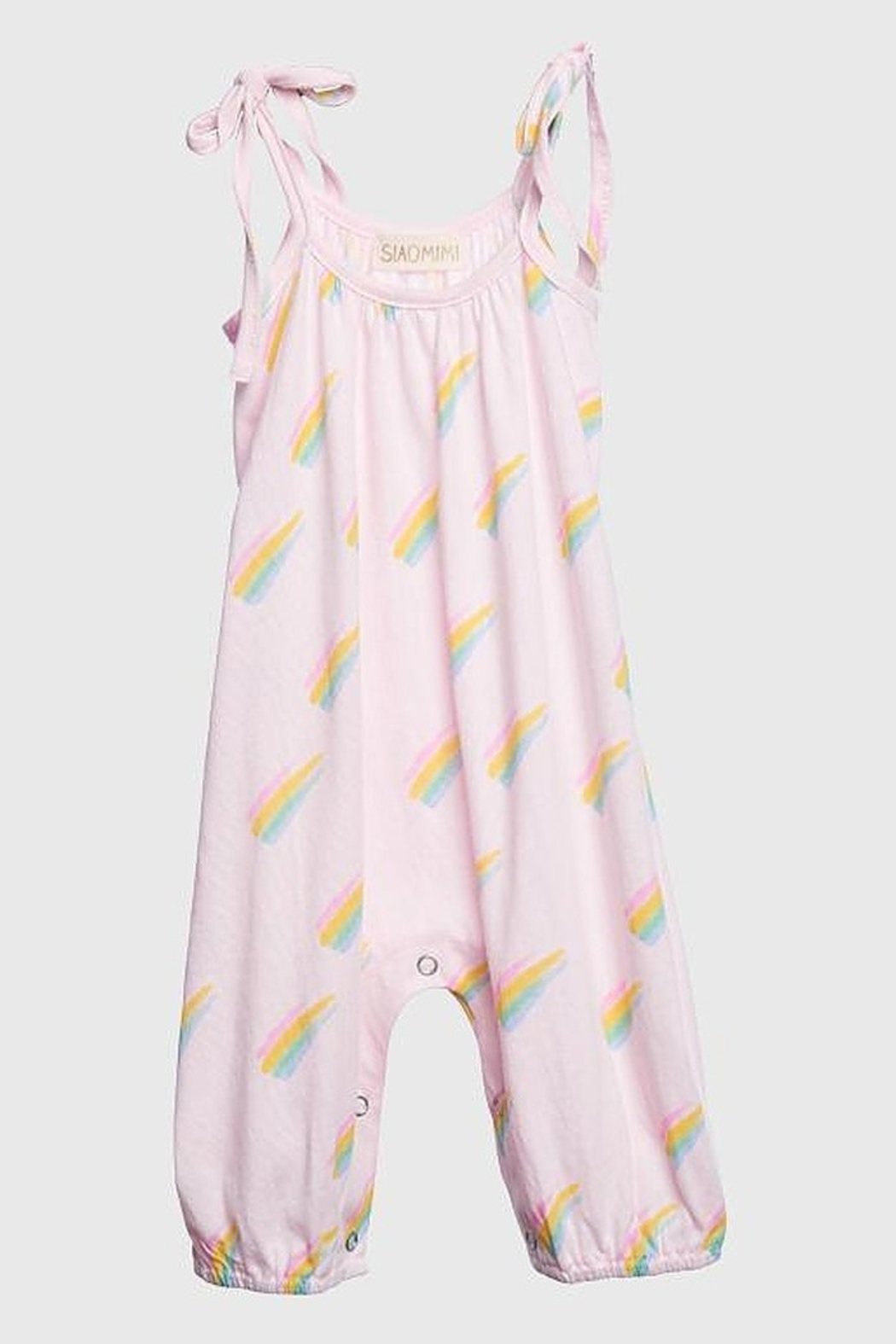 Siaomimi Pixie Rainbow Baby Romper - Front Cropped Image