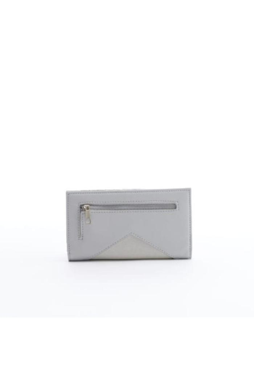 Pixie Mood Sophie Grey Wallet - Front Full Image