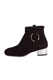 Pixy Milano Black Leather Boots - Side cropped