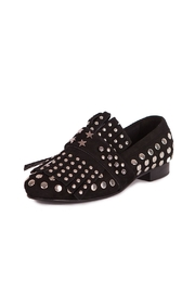 Pixy Milano Black Oxford Shoes - Product Mini Image