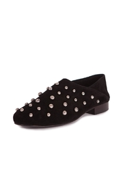 Pixy Milano Black Suede Oxfords - Product Mini Image