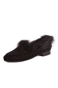 Pixy Milano Black Suede Shoe - Product List Image