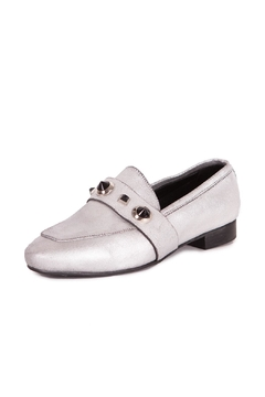 Pixy Milano Metallic Leather Oxfords - Product List Image
