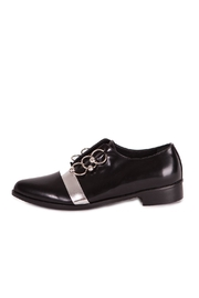 Pixy Milano Oxford Leather Shoes - Back cropped