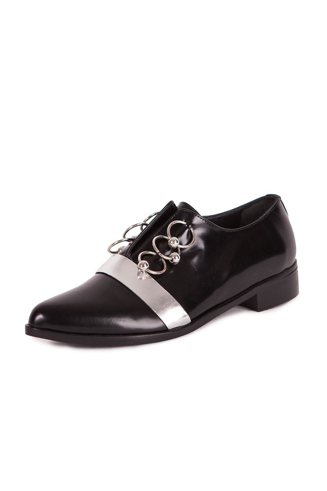 Pixy Milano Oxford Leather Shoes - Main Image