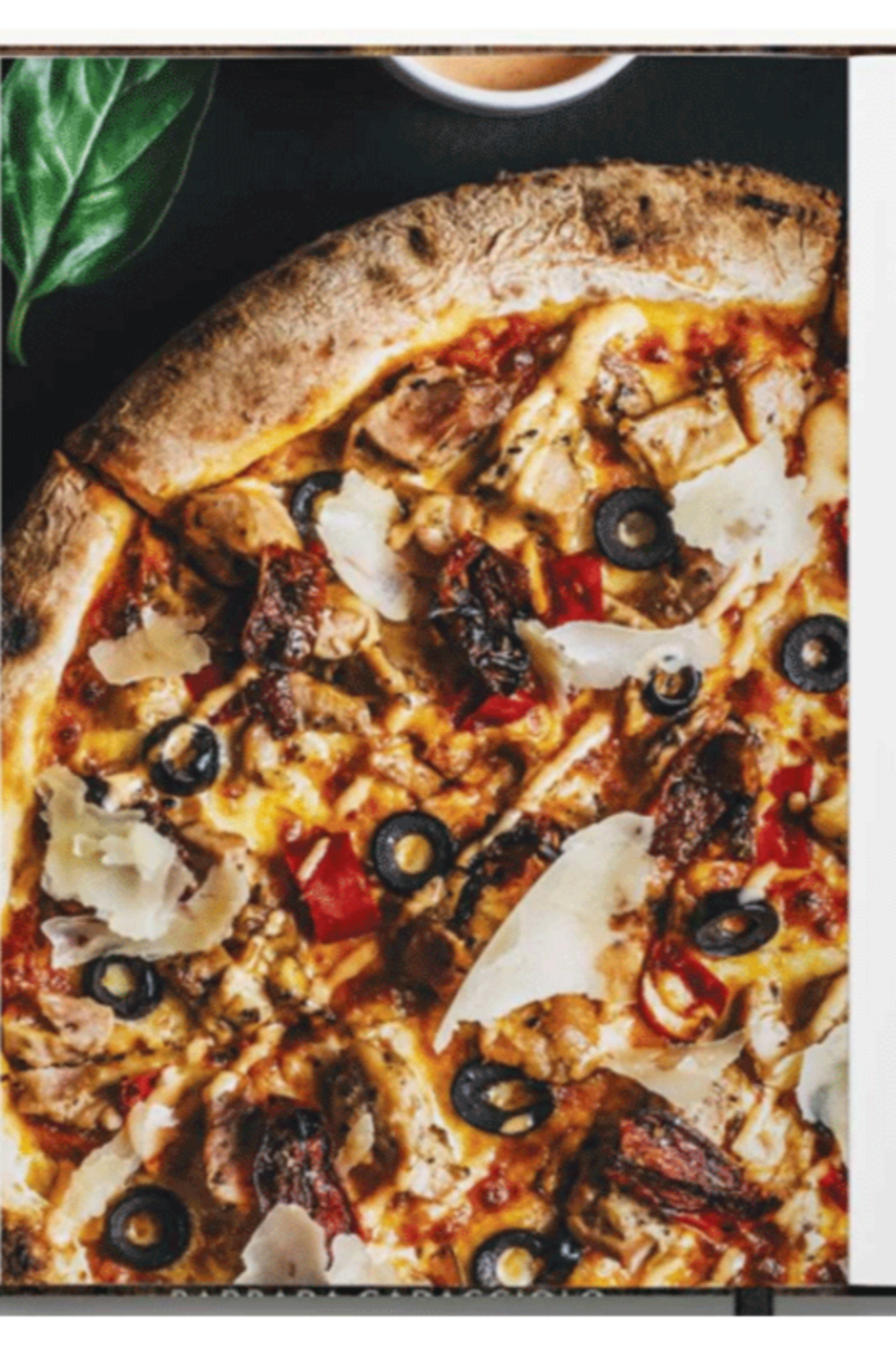 Simon and Schuster Pizza - Side Cropped Image