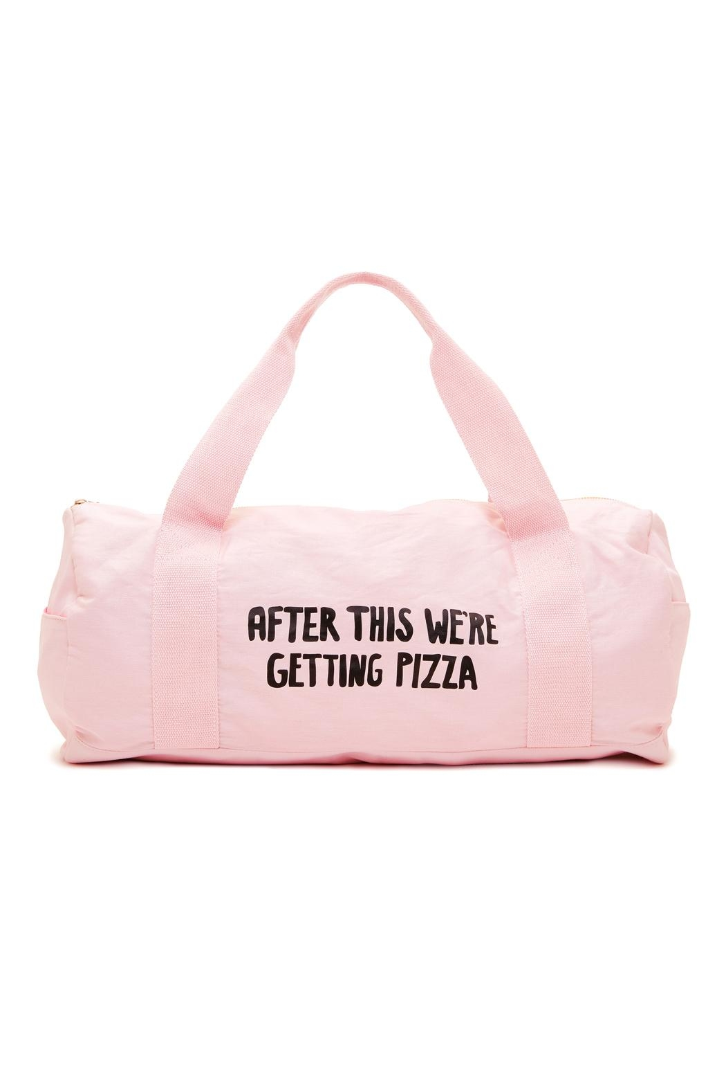 ban.do Pizza Gym Bag - Front Cropped Image