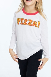 Chaser Pizza Tee - Front cropped