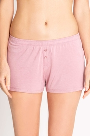 PJ Salvage Pj Button Shorts - Front cropped