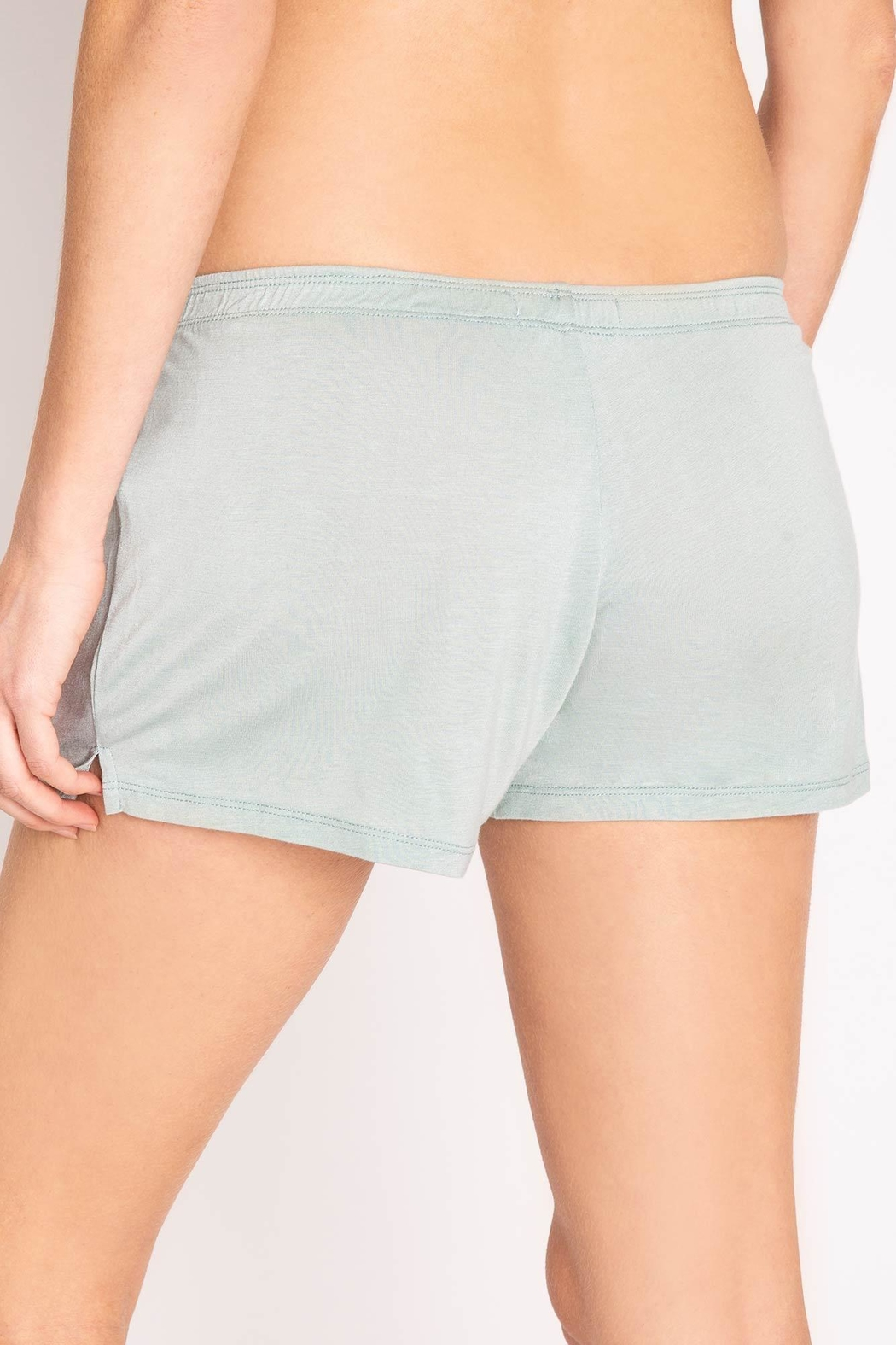 PJ Salvage Pj Button Shorts - Side Cropped Image