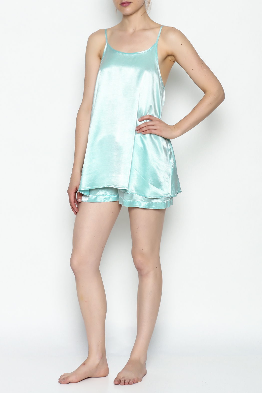 PJ Harlow Anne Cami Tank - Side Cropped Image