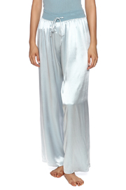 PJ Harlow Drawstring Satin Pant - Product Mini Image