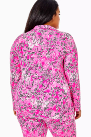 Lilly Pulitzer  PJ Knit Button-Up Top - Other