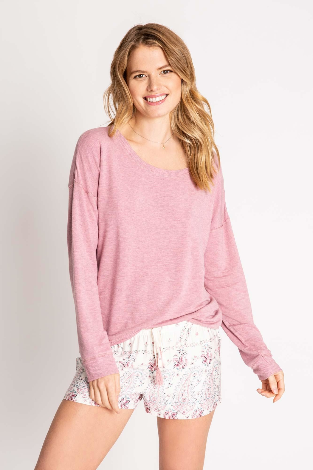 PJ Salvage Pj Long-Sleeve Top - Front Cropped Image