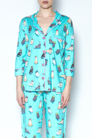 PJ Salvage Cat Pajamas - Front cropped
