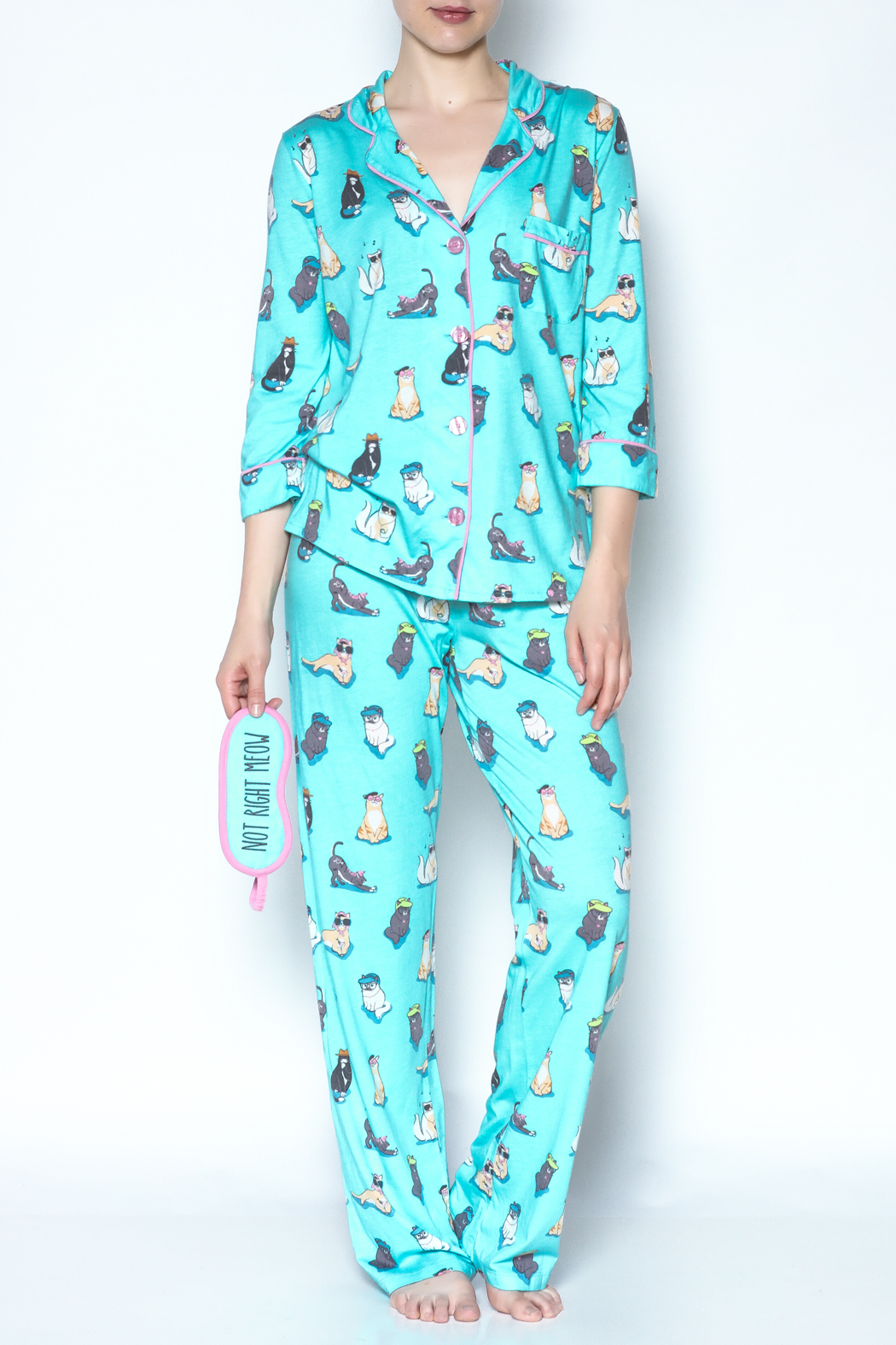 PJ Salvage Cat Pajamas - Main Image