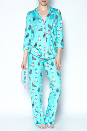 PJ Salvage Cat Pajamas - Front full body