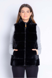 PJ Salvage Cozy Vest - Product Mini Image