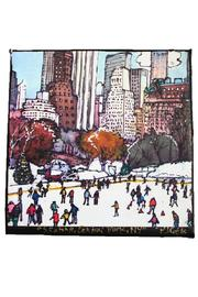 PJ Cobbs  Skating Rink Canvas - Product Mini Image