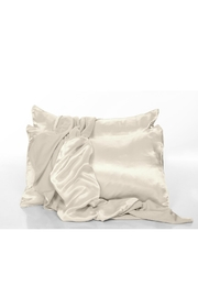 PJ Harlow Clay Satin Pillowcase - Product Mini Image
