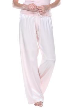 Shoptiques Product: Drawstring Satin Pant