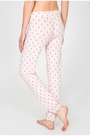PJ Salvage Anchor Print Pant - Front full body
