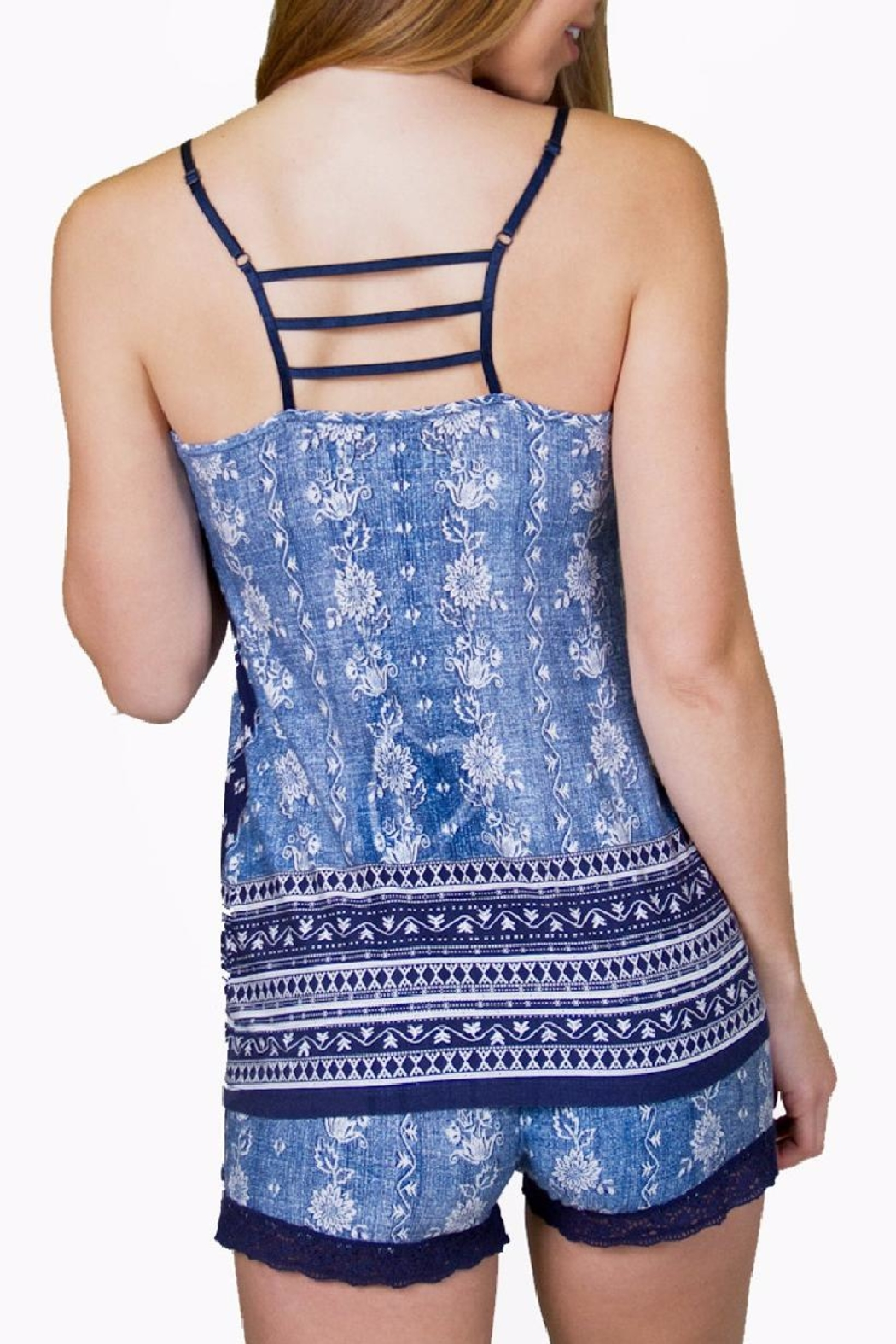 PJ Salvage Blues Traveler Cami Top - Side Cropped Image