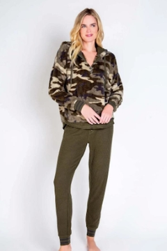 PJ Salvage Cozy Camo Hoody - Product List Image