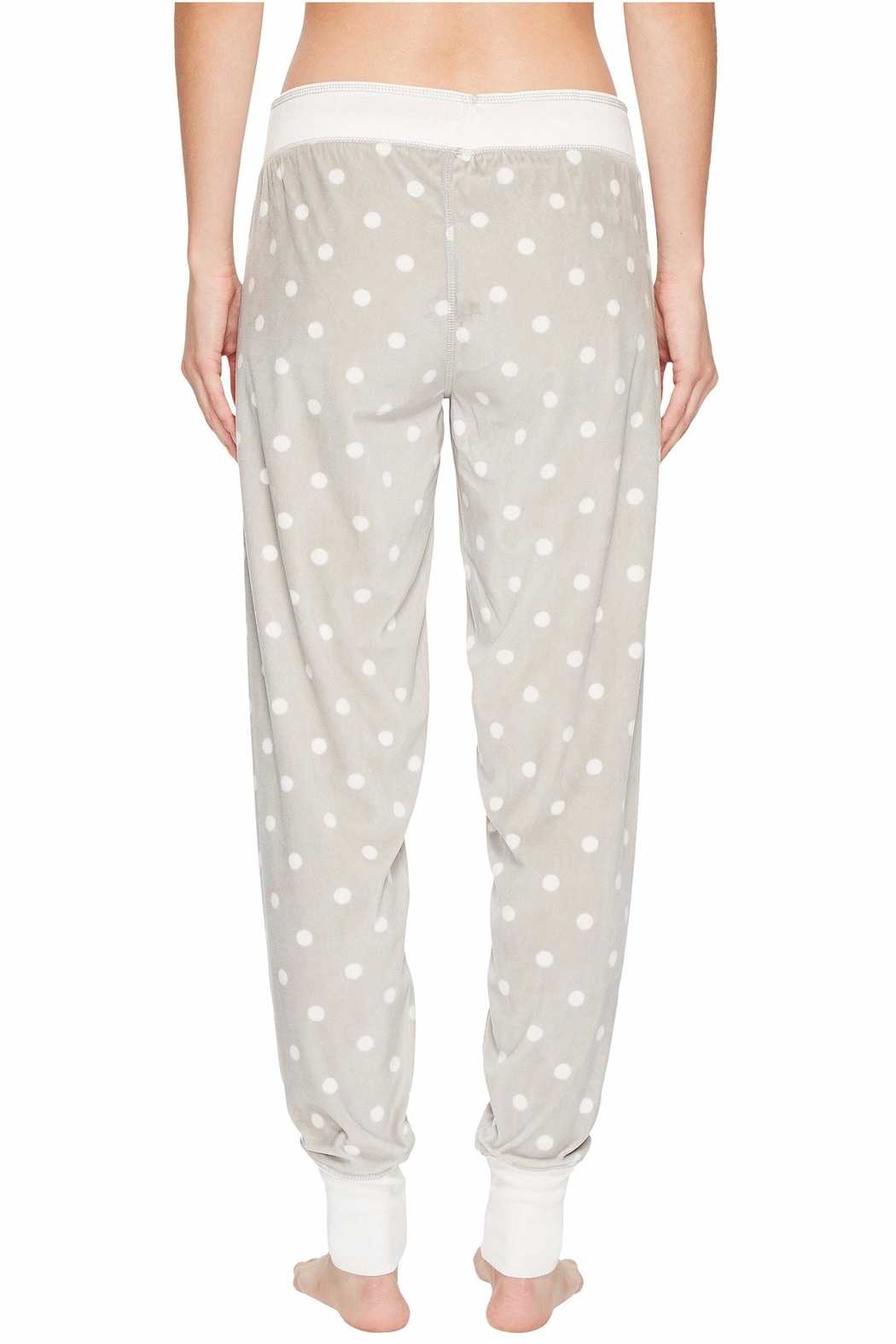 PJ Salvage Cozy Dots Jogger - Back Cropped Image