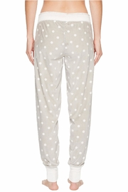 PJ Salvage Cozy Dots Jogger - Back cropped