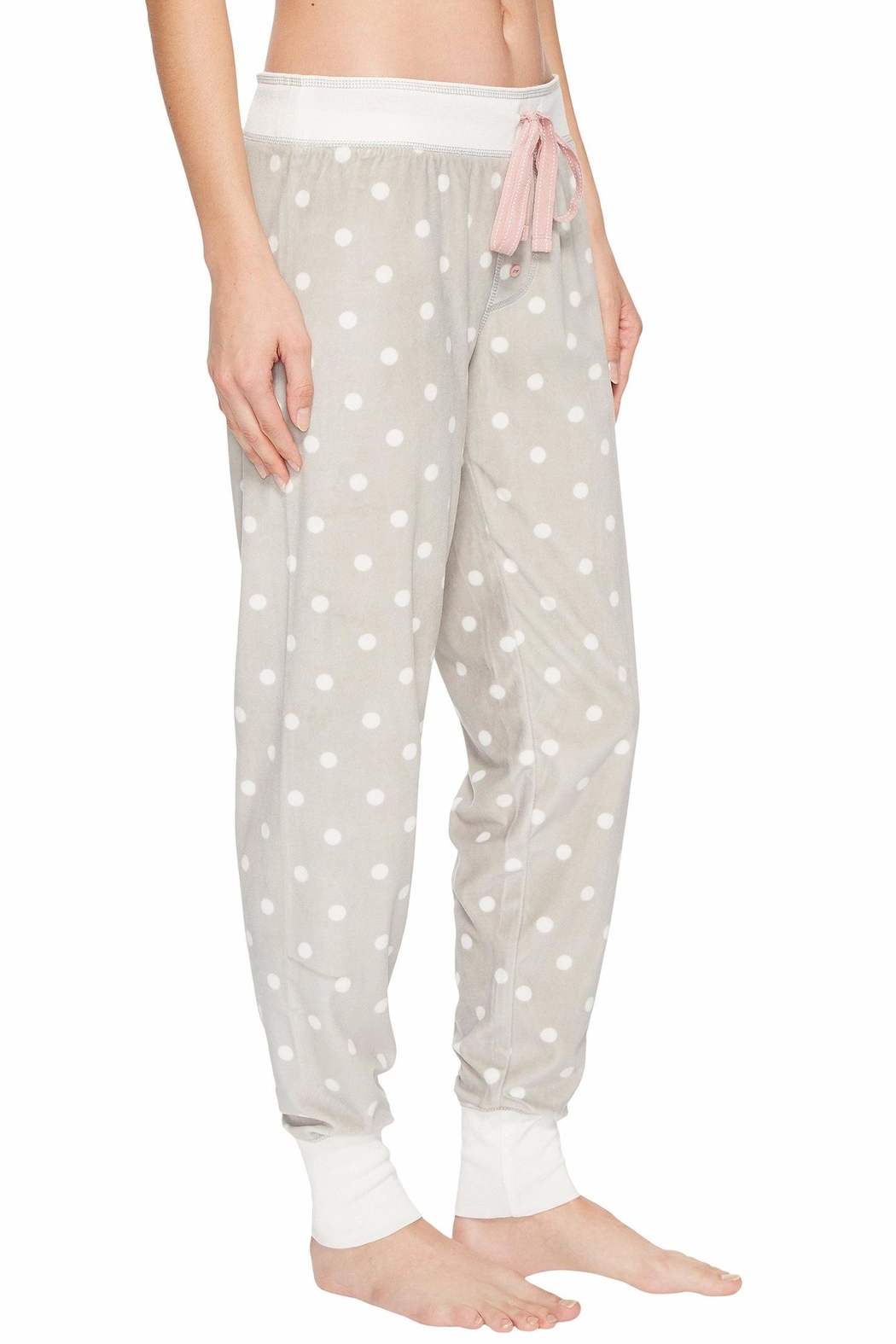 PJ Salvage Cozy Dots Jogger - Side Cropped Image