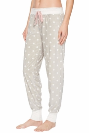 PJ Salvage Cozy Dots Jogger - Front full body