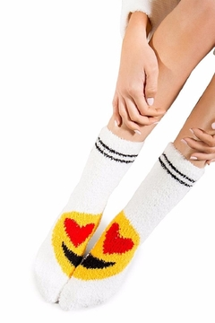 PJ Salvage Emoji Socks - Alternate List Image